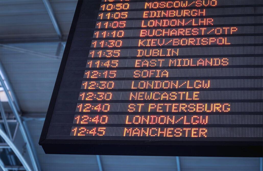 Отменени полети заради Ковид